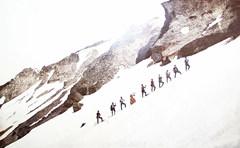 Historic climbing of Mt. Shasta