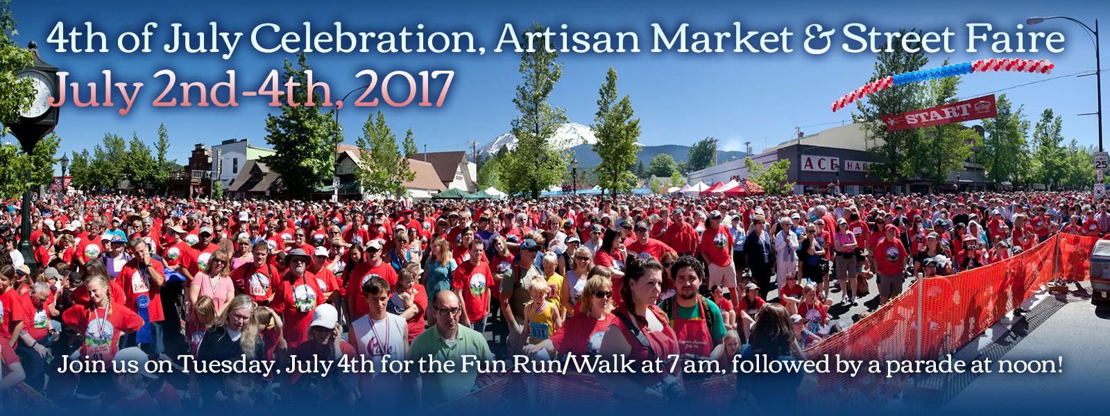 4th of July Celebration, Artisan Market & Street Faire