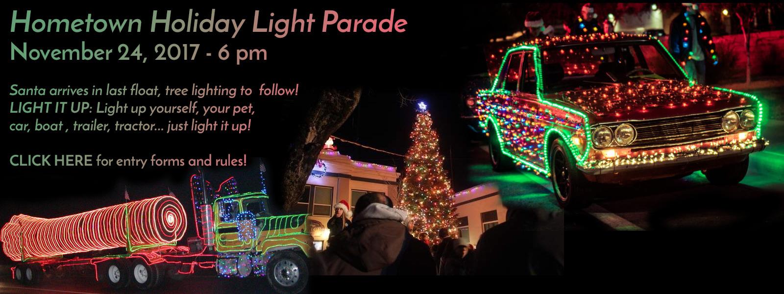 Hometown Holiday Light Parade 2017