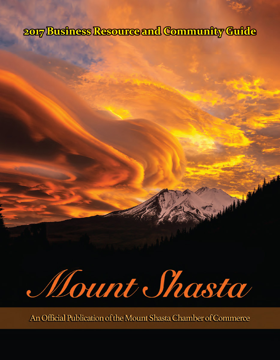 2017 Mt. Shasta Chamber of Commerce Member Directory