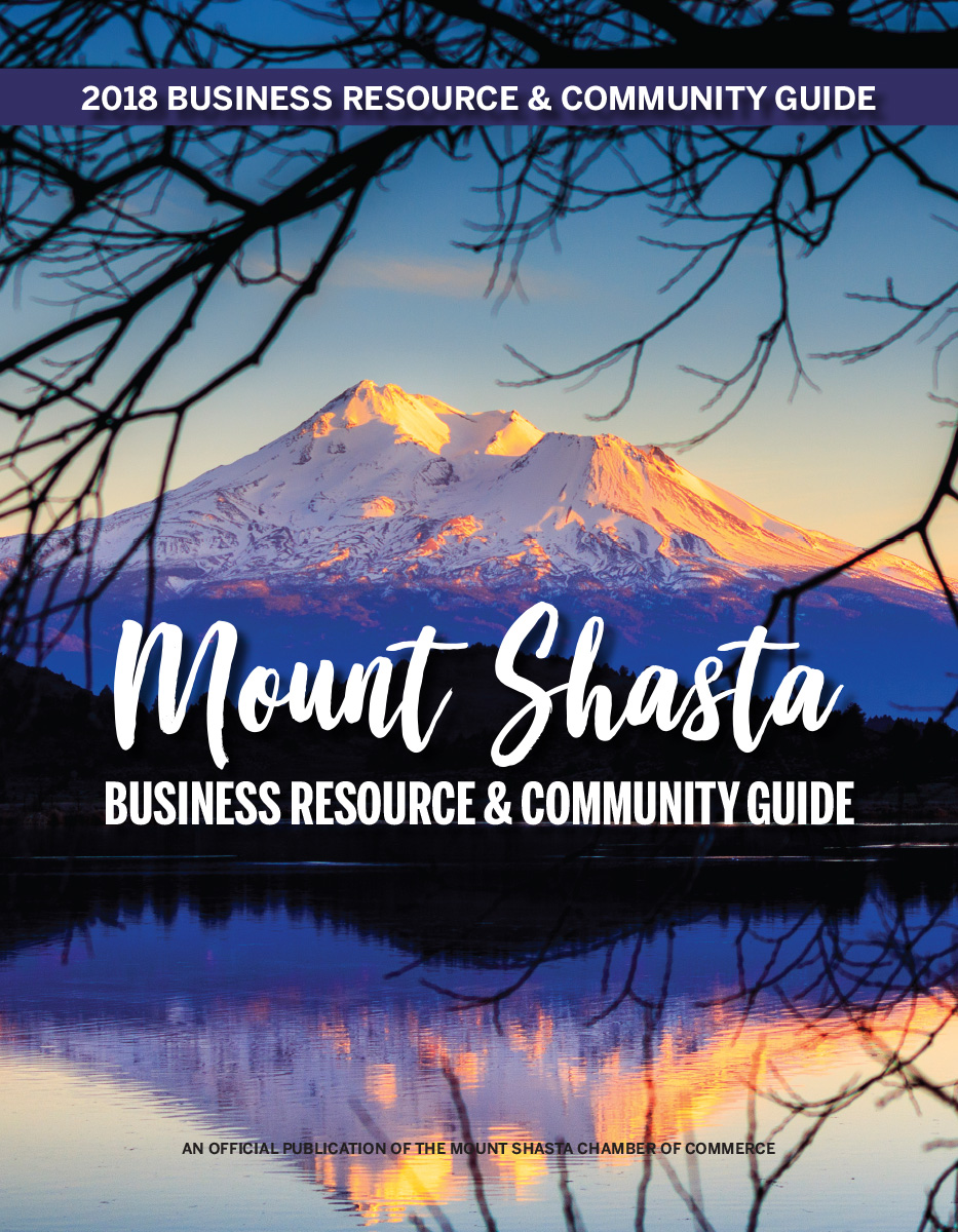 2018 Mt. Shasta Chamber of Commerce Member Directory